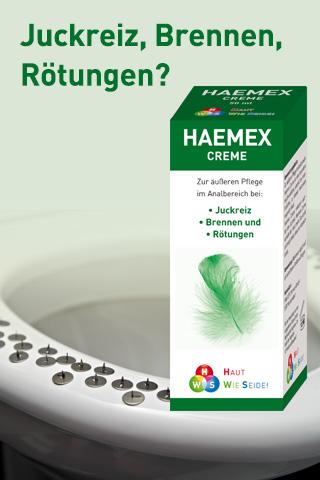 HAEMEX Tropfen + Creme Gratis